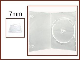 100 Super Clear 7mm DVD Case