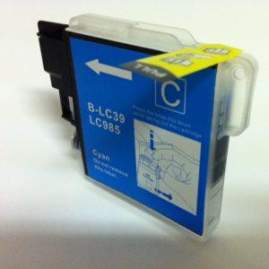 JPL Phototech Brother LC-39C Cyan Cartridge