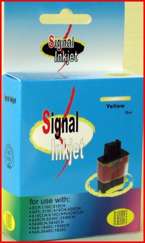 Signal Inks Brother LC47Y Inkjet Cartridge