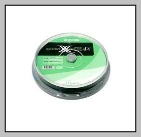 Ritek DVD-RW 4X(Pack of 10)