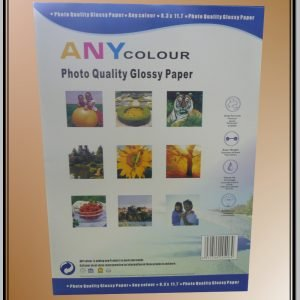 Any Colour 110GSM Photo Quality Glossy Paper