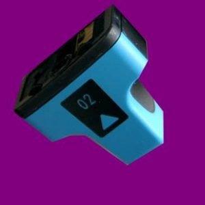 JPL Phototech Hewlett Packard HP02 Cyan Cartridge