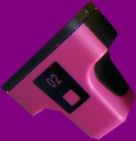 JPL Phototech Hewlett Packard HP02 Magenta Cartridge