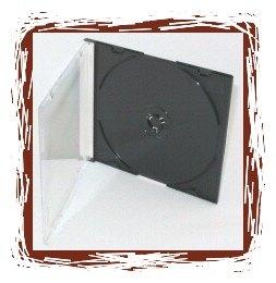 200 CD Black Slim Line Jewel Cases