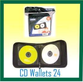 CD/DVD WALLET 24 DISC