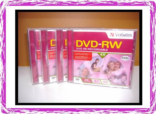 Verbatim DVD-RW 4X